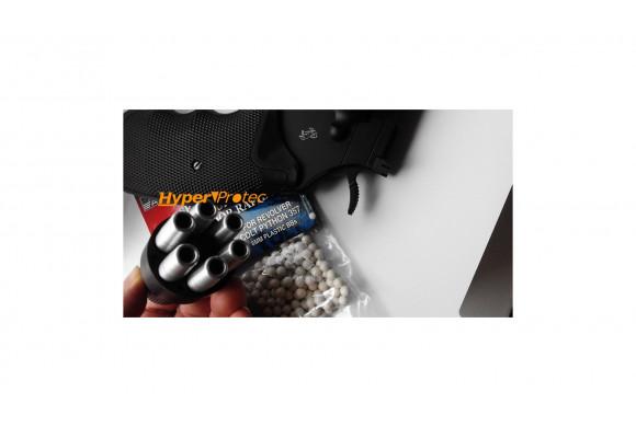 ME 9 mod. Para - Pistolet d'alarme noir