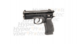 colt 25 noir crosse marron