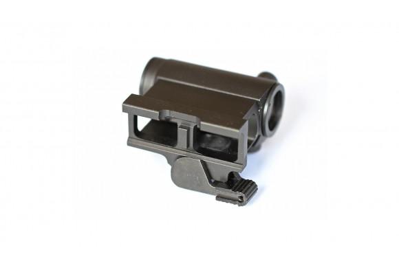 Pistolet alarme Nimbus 918 (modèle 92) culasse métal nickel