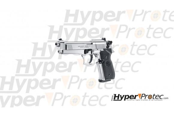 Support presentoir pistolet aluminium noir