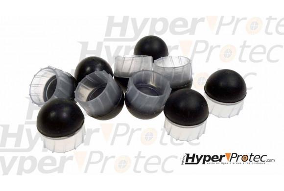 Colliers de montage bas aluminium Bauer 30mm pour rail 22mm