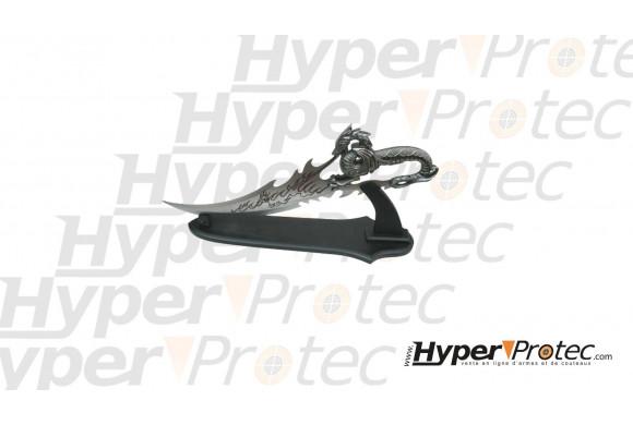 Revolver à blanc special dressage starter ring Alfa 0220 crosse noire - cal 22 long 6mm long