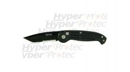 Couteau artisanal Calibre 12 carbone et olivier
