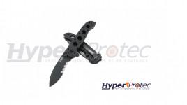 Couteau Karambit Mtech G10 black avec étui skydex