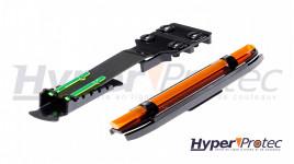 couteau série ballistic bulle gripp orange MT-A957BO