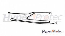 Ceinturon Holster 2 points en cordura 50mm avec velcro - Taille XL 50-56