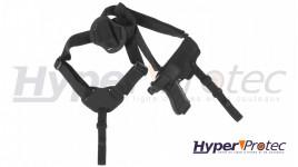 Lunettes de protection Bollé SWAT avec verres fumé noir
