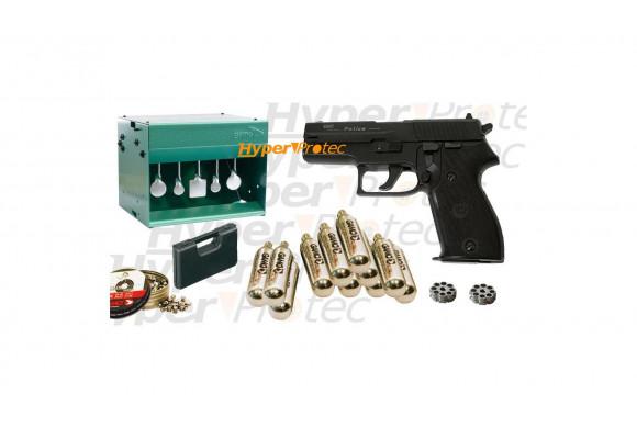 Carabine Gamo CSI avec lunette 3-9x40 - 10 joules