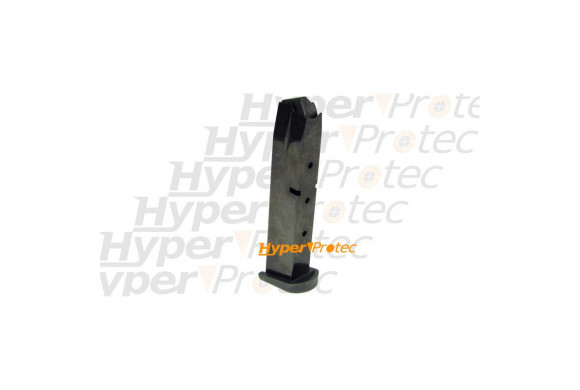 Reck Falcon noir crosse noire - Revolver alarme 6 mm