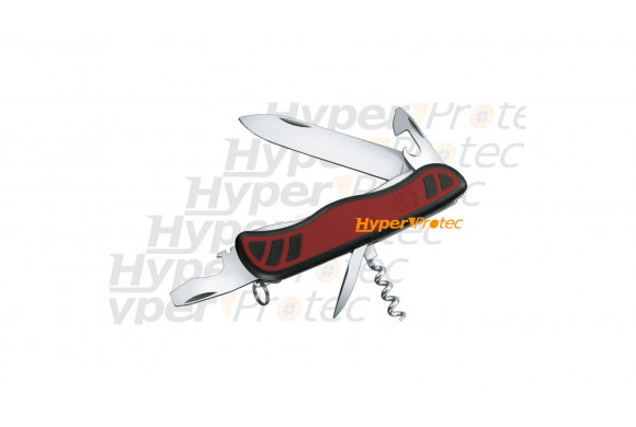 Couteau Suisse Victorinox - Cyber 41 outils rouge transparent