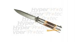Couteau Laguiole manche en bokote G. David - 11 cm