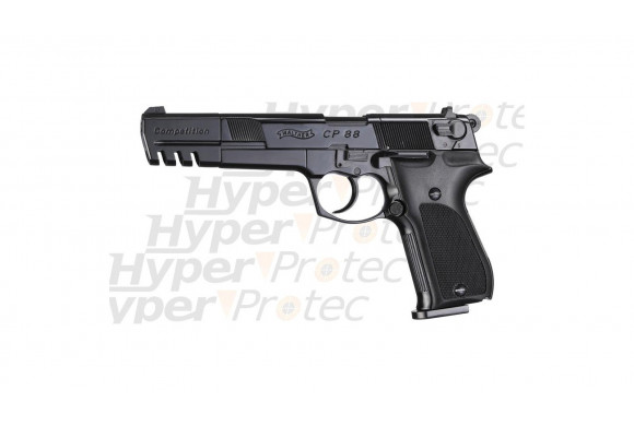 Revolver alarme noir crosse combat Matrock - Canon de 6 pouces