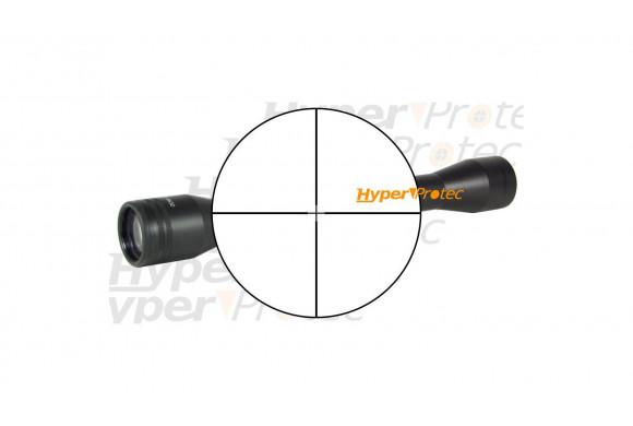 Lunette de tir Bauer 4x32 short compacte (pour rail 22 mm)
