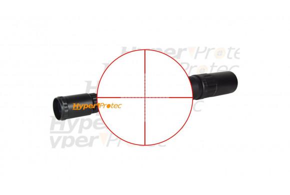 Montage attache pour mettre une lampe sur fusil ou carabine