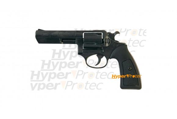 Derringer noir - Revolver Alarme 6 mm