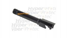 Etui 113 cm housse pour carabine marron - brodé Hyperprotec