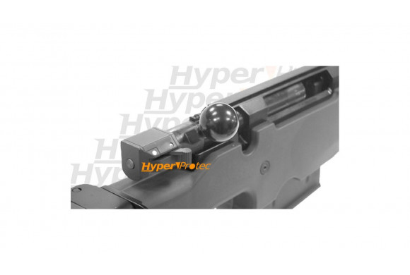 Revolver Razor noire crosse genre bois 2.5 pouces 9 mm