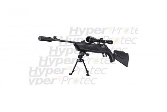 Ruger Redhawk nickel crosse bois noire - revolver alarme