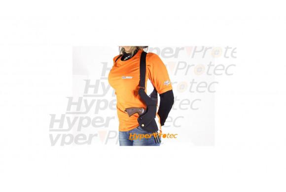 Présentoir support plexi pour pistolet et revolver