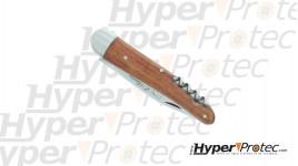 Couteau pliant Marin manche en bois avec ancre marine