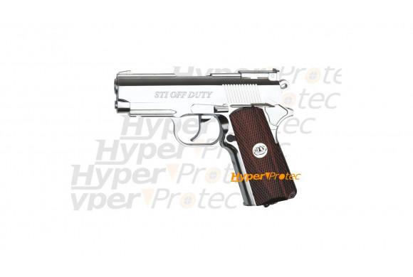 Walther PP avec silencieux et cartouches à blanc