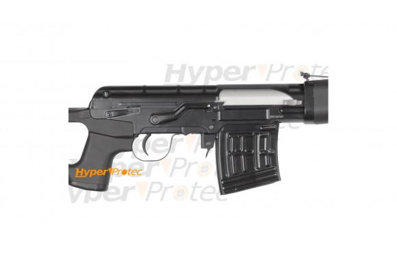 Pistolet mitrailleur XBG Tac Kit à billes acier et CO2 + viseur