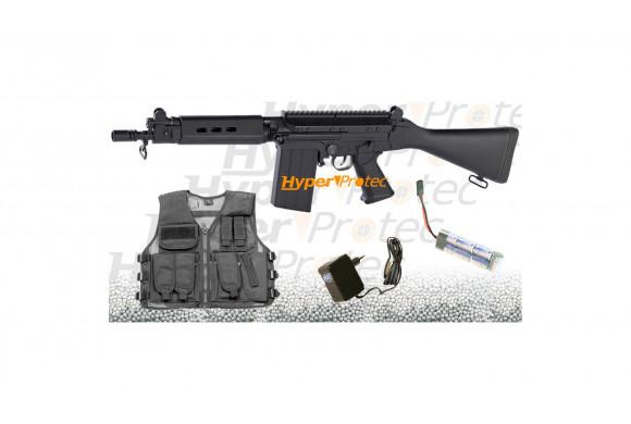 Tomahawk hache noire United Cutlery M48 Tactical - 40 cm