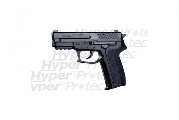 Ruger P345 Pistolet au CO2 Visée fibre optique - nickel