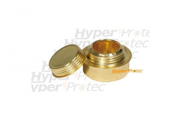 Jeu de 3 fléchettes Winmau Neutron Brass pointe métal - 22 g