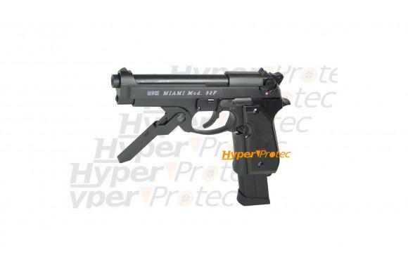 Smith & Wesson 586 - revolver à plombs noir 6 pouces