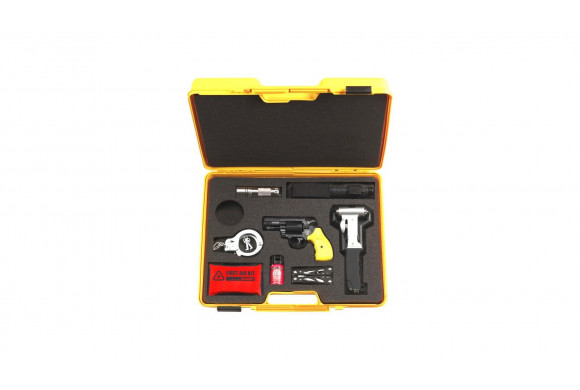 Pack M3000 - Fusil à pompe crosse carabine + billes + lampe