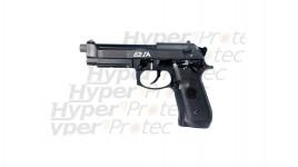 Pack 357 Magnum chromé crosse bois alarme