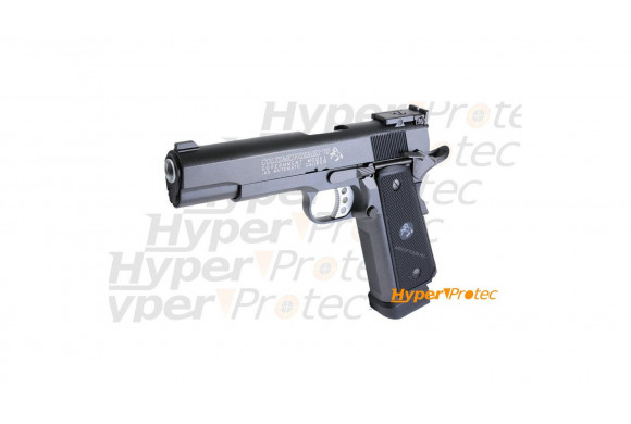 Réplique Glock 17 nickel - pistolet alarme 9mm