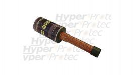 Kukri machette courbe 42cm - manche caoutchouc