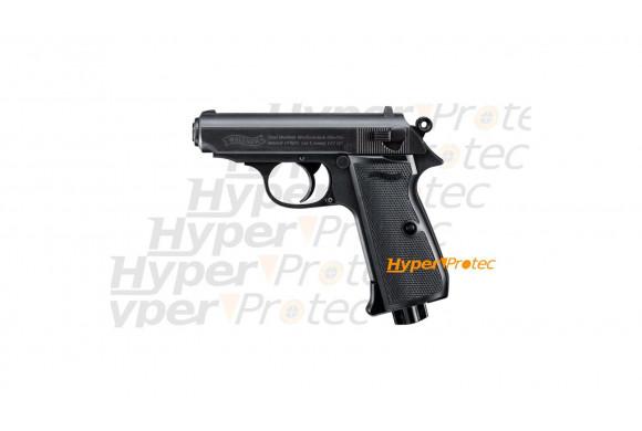 Walther PPK James Bond Pistolet à plomb bille acier 4.5 mm Noir