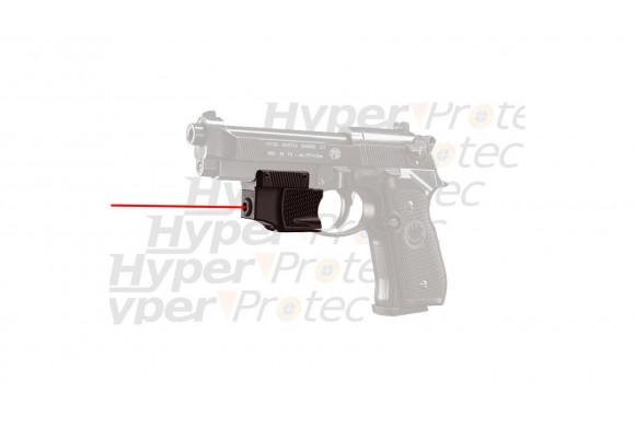 Laser point rouge sur cible pour Beretta 92
