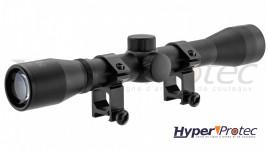 Lunette RTI Tactical serie 4x32 mildot avec colliers 22mm
