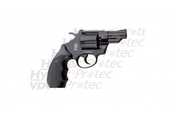 Combat Smith & Wesson - revolver 9 mm - bronzé noir