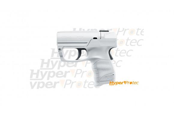 Pistolet de défense personnel Walther PDP Pro secur blanc au gel poivre OC