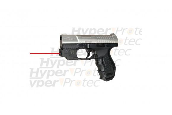 CP99 compact avec laser - culasse nickel blowback