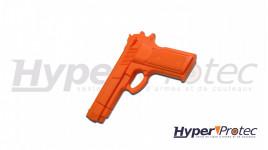 Pistolet de formation d'entrainement réplique 1911 training pistol jaune ou orange