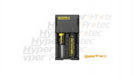 Chargeur Nitecore Intellicharger I2EU comaptible IMR Li-ion Ni-MH et Ni-Cd