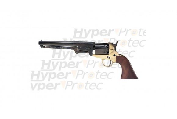 Colt 1851 Navy à blanc en laiton