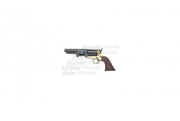 Colt 1851 Navy Sheriff à blanc en laiton