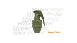 Grenade quadrillée en métal verte MK2 américaine