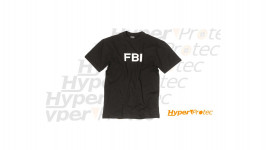 T-shirt noir agent du FBI