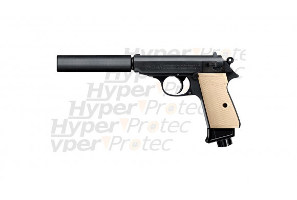 Walther PPK S Classic Edition avec silencieux