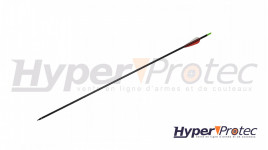 Flèche fine pour tir à l'arc carbone 8m m de diamètre