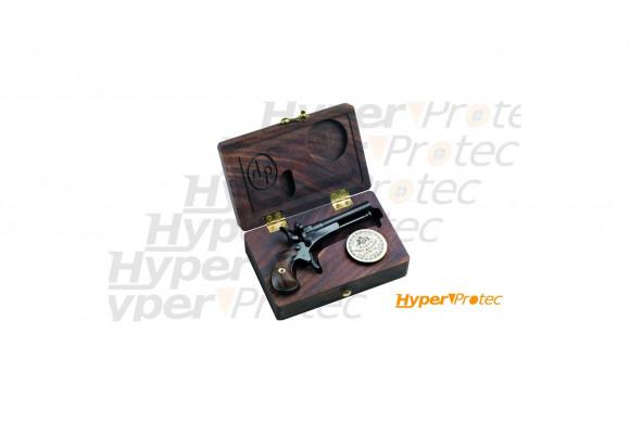 Coffret Derringer Davide Pedersoli Guardian Pocket à plomb calibre 4.5mm