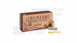 50 cartouches Magtech Cowboy Action Colt 45 - 200gr